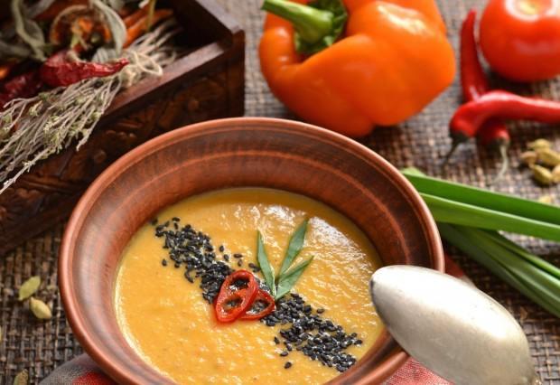 Вегетаріанський суп-пюре