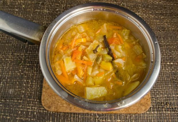 Варимо суп 40-45 хвилин